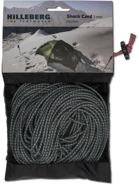 Hilleberg Shock Cord - Accesorios para tienda de campaña - Ø3mm 15m blanco/negro
